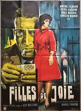 Affiche FILLES DE JOIE Prostitution MARTHA LEGRAND Jorge Mistral 120x160cm *