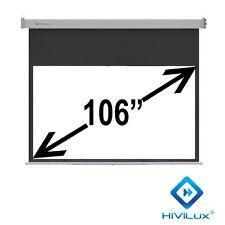 "HiViLux Rollo-leinwand 106"" 16:9 234x132cm 3D/2D/Full HD/Gain=1,2/Vorlauf 50CM"