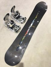 Rare edition Burton Futura x Vapor Snowboard 157cm & Triad Bindings, collectors