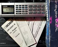 Boss Dr Rhythm DR-220E Vintage Drum Machine - EXCELLENT CONDITION - USA SELLER