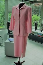 Vintage : Elegant Pink Suit  GRACE COLLECTION  Jacket & Skirt  Sz 8  England