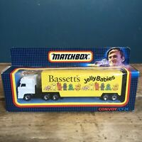 Matchbox Convoy / CY-24  for Bassett's Jelly Babies DAF Box Car Boxed Mint #