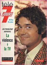 ▬►Télé 7 Jours 704 (1973) PIERRE PERRET_RIKA ZARAÏ_GÉRARD LENORMAN_ABEL GANCE