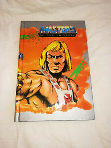 Diario He-Man Masters of the Universe vintage Mattel 1986 NUOVO!