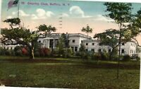 Vintage Postcard - 1916 Country Club Building Buffalo New York NY #3668