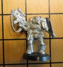40k Rare oop Vintage Metal Space Marine Vanguard Veteran White Dwarf Sub