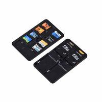 Speicherkarten Schutzbox Aufbewahrung Hülle Etui Tasche Card Case 14 SD Karten