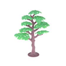 Vivid Green Tree Model RailwayPark Pine Layout Scenery Dollhouse Miniatures HF