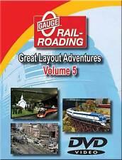 Great Layout Adventures Volume 5 DVD NEW Tony Lash Hi-Rail O Gauge modular B&O