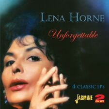 LENA HORNE - UNFORGETTABLE 2 CD NEW+