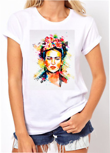 Frida Kahlo Painter Lockdown Birthday Present Gift Women T-shirt 2021 Gift Funny