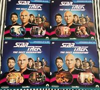 Star Trek The Next Generation Laserdisc Lot Episodes 61 62 65 66 67 68 69 70 VG