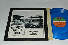 "GENESIS Spot The Pigeon 12"" SINGLE BLUE COLORED VINYL LP 3-Songs 45rpm Canada VG"