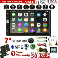 7Inch DOUBLE 2DIN Car MP5 Player BT Tou+ch Screen Stereo Radio + Camera US Stock