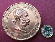 More details for 1873 vienna  large copper medallion