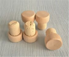 More details for wooden cork bottle t-stoppers,cap seal plug brew high quality, wine or home brew