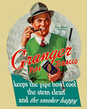 Sammy Snead - Granger Pipe Tobacco Advertisement, 8x10 Color Photo