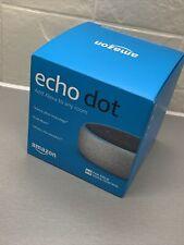 Amazon Echo Dot 3rd Generation Smart Speaker with Alexa Heather Grey Fabric