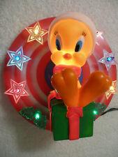 RARE VINTAGE 1996 WARNER BROS. TWEETY BIRD CHRISTMAS TREE TOP LIGHT