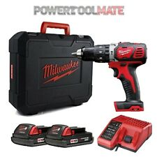 Milwaukee M18BPDKIT 18V Compact Combi Drill Kit with 2 x 1.5Ah Batteries & Case
