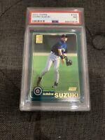 2001 Topps #726 Ichiro Suzuki Seattle Mariners RC Rookie PSA 7 NM