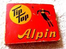 TIP TOP ALPIN ABFAHRTSWACHSE THREE SKI WAXES IN BOX 1950's LUDWIGSBURG GERMANY