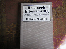 Research Interviewing - Mishler, Elliot G.