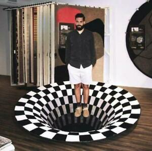 3d Vortex Illusion Rug - 50% Off Limited Offer