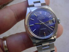 Collectible Rolex  Air King Date 5700, Fantastic Blue Dial.