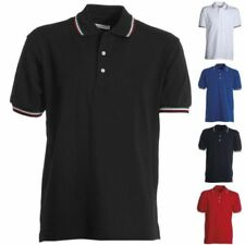 Polo manica Corta Payper ITALIA 3 Bottoni Uomo Donna Unisex T-Shirt 100% Cotone
