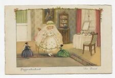 1910 GERMANY PAULI EBNER DOLL WEDDING, THE BRIDE Unposted Post Card #2622