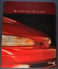1992 Mitsubishi Eclipse Catalog Brochure GS Turbo GSX Excellent Original 92