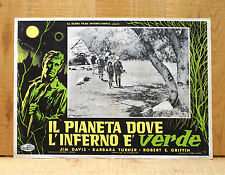 IL PIANETA DOVE L'INFERNO è VERDE fotobusta poster Monster from Green Hell AY14