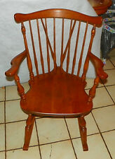Maple Windsor Rocker / Rocking Chair by Ethan Allen  (R223)