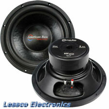 "American Bass Dx-104 10"" subwoofer 600 watts max 4 Ohm Svc"