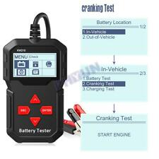 KW210 12V Car Battery Tester Unit 100 to 2000CCA Battery Testing Tool 30- 220 AH