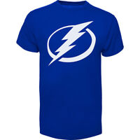 New Tampa Bay Lightning NHL Hockey 47 Brand Mens Blue Fan T-Shirt Size XL