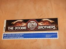 Original 1982 The Doobie Brothers Bumper Sticker Nos