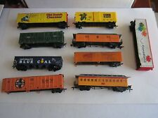 Lot Of 16 Ho Scale Trains - Pittsburgh Steelers, Blue Coal & More - See Pics