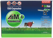 Aim-A VetCaps 150 Insecticide caps AgriLabs Face/Horn Flies