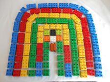 Job Lot Lego Duplo Blocks Original Genuine 100+ Bricks 50+ 4 x 2 50+ 2 x 2 Clean