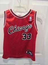 Scottie Pippen Chicago Bulls Reebok Hardwood Classics NBA Jersey boy's medium