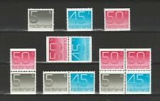 Nederland Stockkaart Combinaties uit Postzegelboekjes 25 Postfris