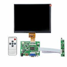 "HDMI/VGA/AV Control Driver Board + 8"" inch HE080IA-01D 1024*768 IPS LCD Display"