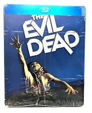 The Evil Dead (Blu-ray Disc, 2014) Limited Edition Steelbook BRAND NEW