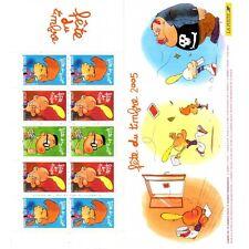 Bande Carnet BC3751A - Fête du timbre - Titeuf - 2005