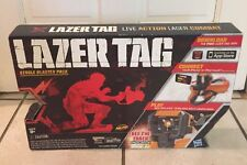 Lazer Tag Single Blaster Battle Pack Nerf works with Iphone or Ipod New Open Box