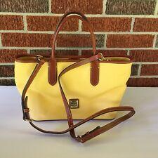 Excellent Dooney & Bourke Yellow Handbag Purse Bag