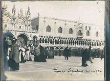 Italie, Venise, Le Palais des Doges, ca.1910, vintage silver print Vintage silve