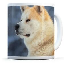 Handsome Akita - Drinks Mug Cup Kitchen Birthday Office Fun Gift #12578